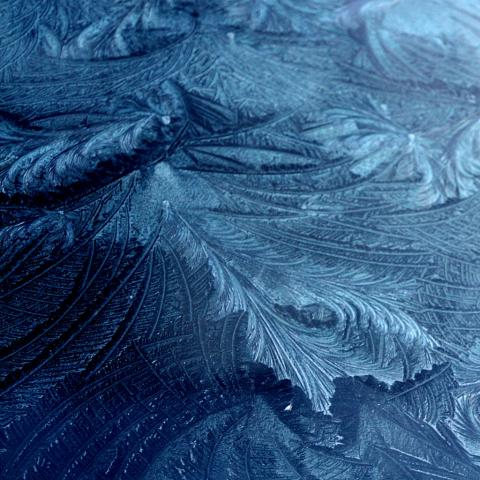 Frost on Glass 5
